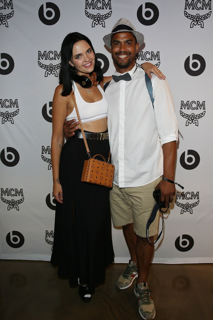 attends the MCM X Beats Launch Event In Berlin on July 8, 2015 in Berlin, Germany.